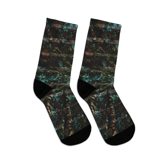 Trees Abstract Socks