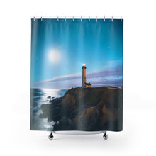 Pigeon Point Lighthouse Shower Curtains