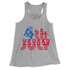 4th July/Women's Flowy Racerback Tank