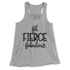 Fit Fierce Fabulous/Women's Flowy Racerback Tank