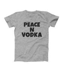 Peace And Vodka Men's Unisex T-Shirt