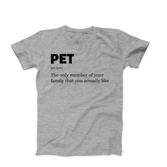 The Only Member Of Your Family/Unisex Tee