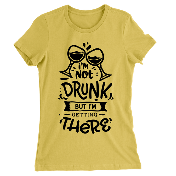 I'm Not Drunk But I'm Getting There/Women's The Boyfriend Tee