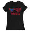 'Merica/Women's The Boyfriend Tee