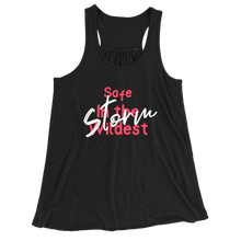 Safe In The Wildest Storm/Women's Flowy Racerback Tank