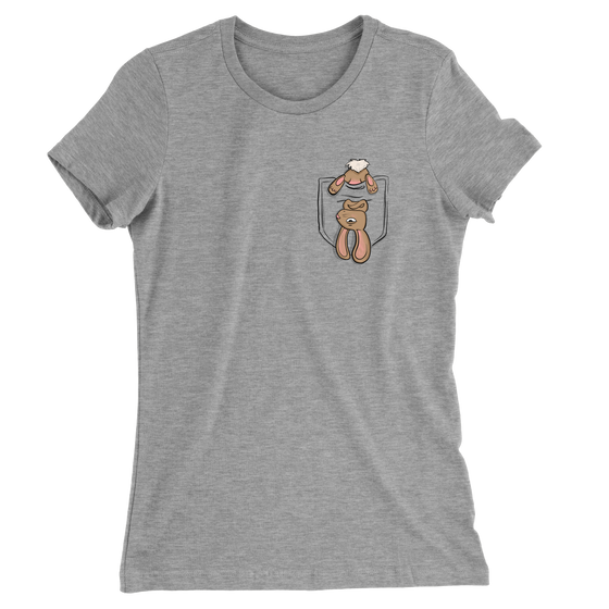 Rabbit Pocket/Women's The Boyfriend Tee