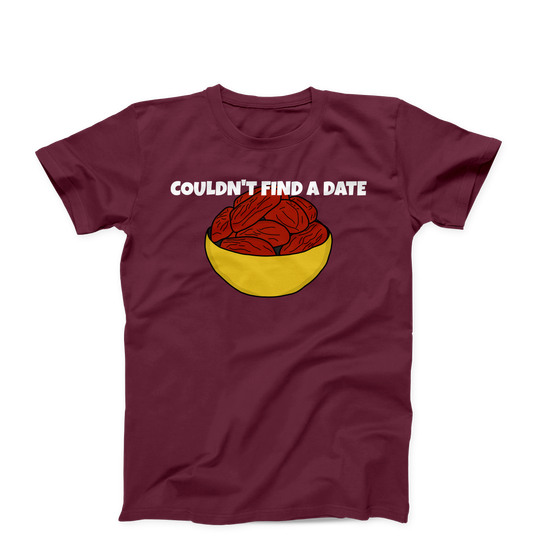 Couldn't Find A Date Funny Creative Men's Unisex T-Shirt