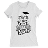 A Day At The Beach Gives Me Back My Peace/Women's The Boyfriend Tee