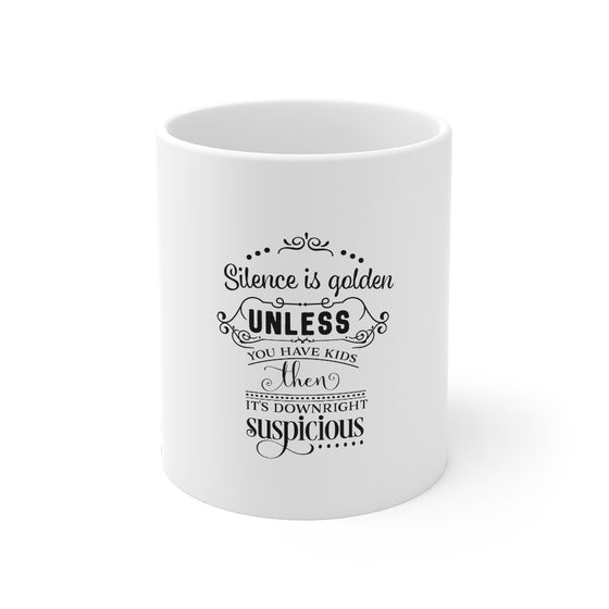 Silence Is Golden/Mug 11oz