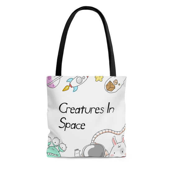 Creatures In Space Tote Bag