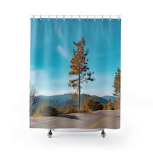 Road Shower Curtains