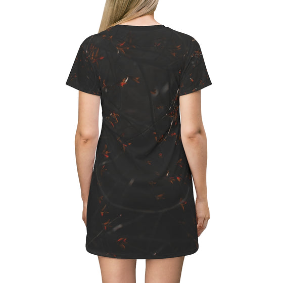 Twisted Trees T-Shirt Dress