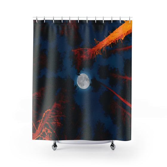 Moon Shower Curtains