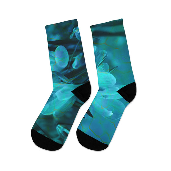 Water Abstract Socks