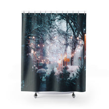 First Snow Shower Curtains