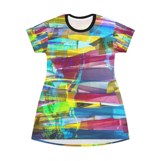 Multicolor T-Shirt Dress