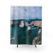 Beach Cliffs Shower Curtains
