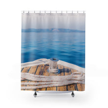Boat Deck Shower Curtains