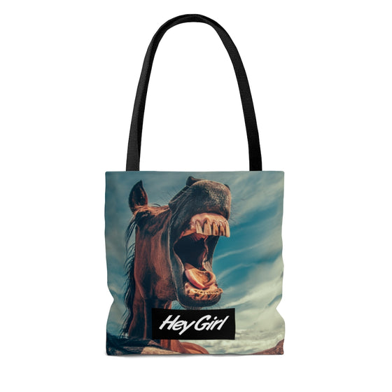 Hey Girl Tote Bag