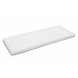 Bodipillo by Ladypillo.  100% antibacterial, washable, memory foam treatment table mattress toppers for clinic couches in white.