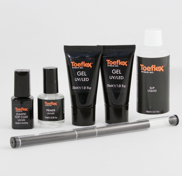 Toeflex Starter Kit for Toe nail reconstruction, takes less than 10 mins from beginning to end .