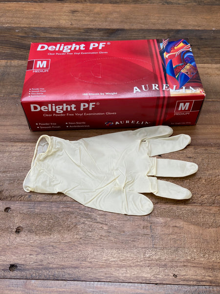 Vinyl  Disposable Gloves 100 BLACK FRIDAY OFFER