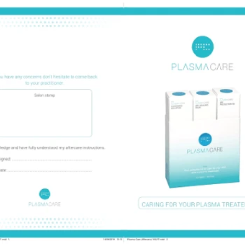 Plasma Care Aftercare Leaflets