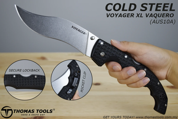 Cold Steel Voyager Malaysia