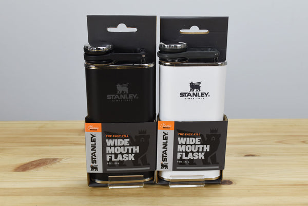 Stanley 8oz Classic Stainless Steel Wide Mouth Flask