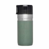 Stanley Go Series Vacuum Bottle With Flow Direct 16oz (Hammertone Green)