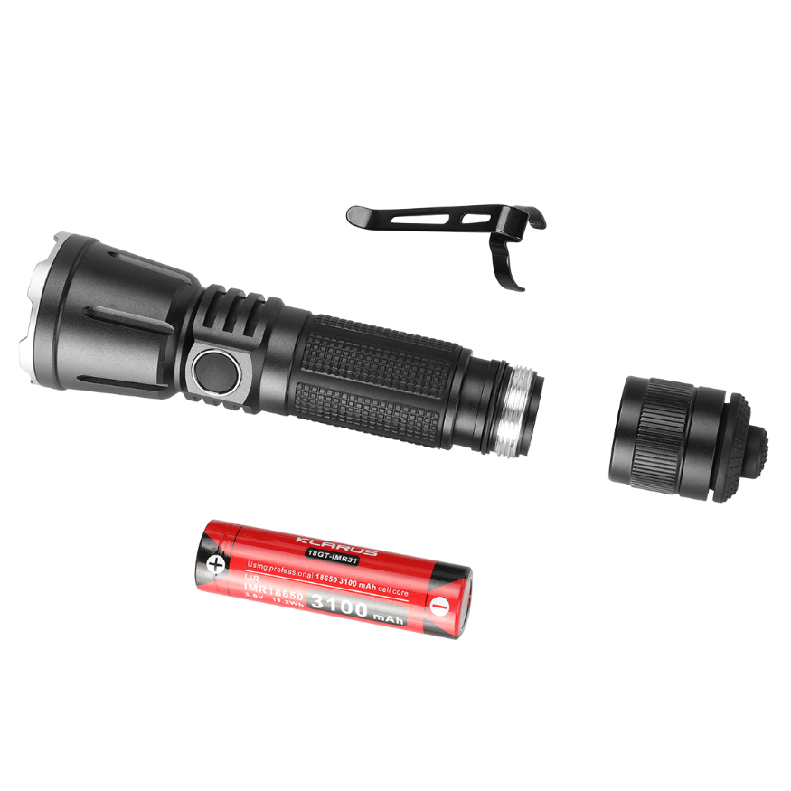 Klarus 360X3 Rechargeable Flashlight (3200 Lumens) - Thomas Tools