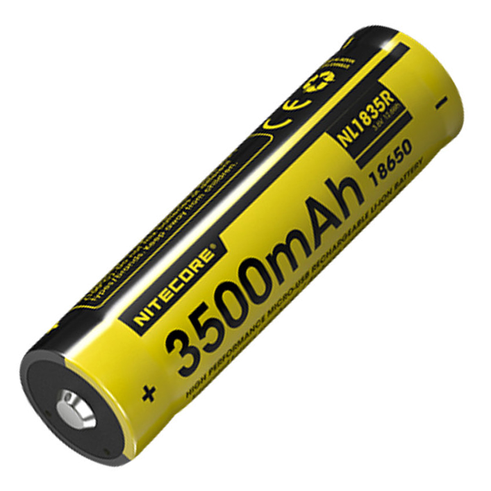 Nitecore Battery 18650 NL1835R - Thomas Tools