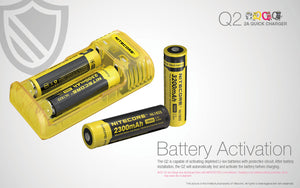 Nitecore Q2 2A Quick Charger (Black)