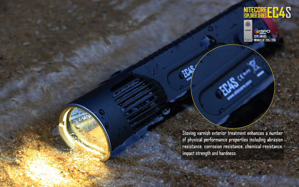 Nitecore EC4S LED Flashlight (2150 Lumens)