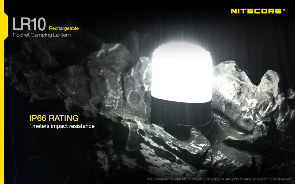 Nitecore LR10 Rechargeable Lantern (250 Lumens) (2 Versions) - Thomas Tools