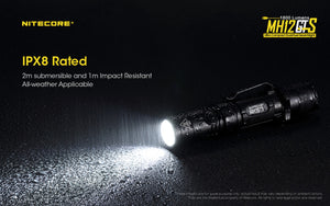 Nitecore MH12GTS LED Rechargeable Flashlight (1800 Lumens)