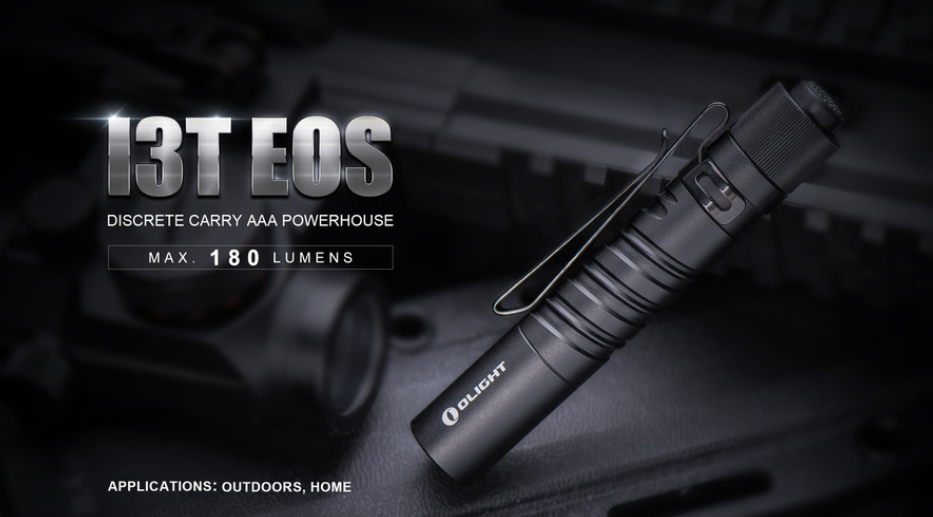 Olight I3T EOS (180 Lumens) - Thomas Tools