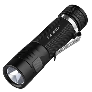 Folomov EDC C4 Rechargeable Flashlight (1200 Lumens) - Thomas Tools