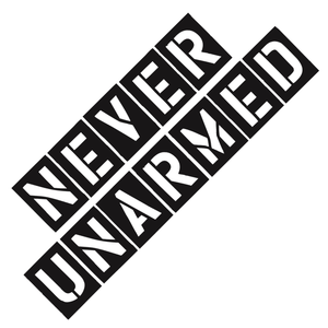 "Cold Steel ""Never Unarmed"" Decal - Thomas Tools"