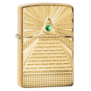 Zippo Spiritual 49060 Eye of Providence Lighter