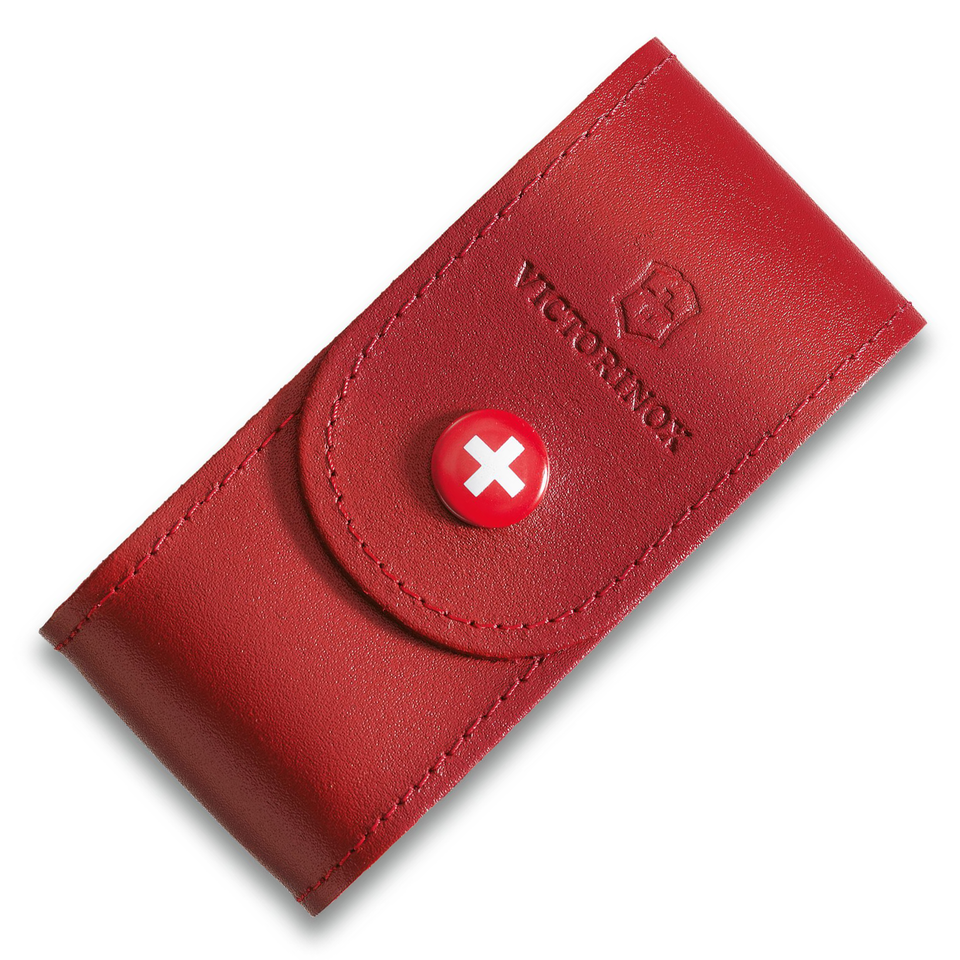 Victorinox Leather Belt Pouch (Red) (5-8 Layers)