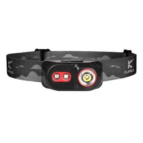 Klarus H1A-PL Rechargeable Headlamp (350 Lumens) (Black)