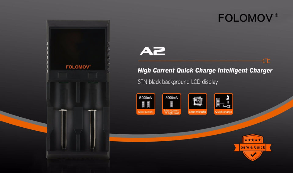 Folomov Battery Charger A2 - Thomas Tools