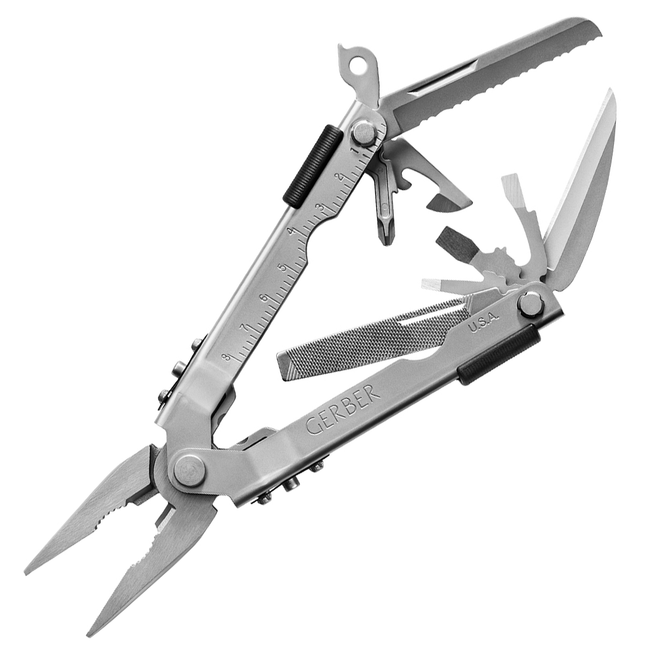 Gerber Multi-Plier MP600 Needlenose (Stainless) - Thomas Tools