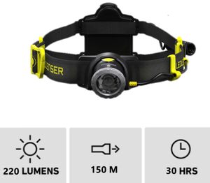 LED Lenser iH7R CRI (220 Lumens) - Thomas Tools