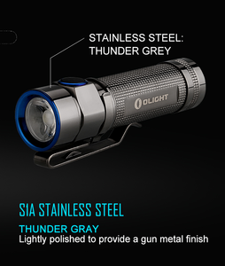Olight S1A Stainless Steel (600 Lumens)