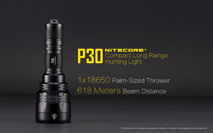 Nitecore P30 LED Flashlight (1000 Lumens)