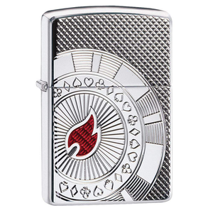 Zippo Armor 49058 Poker Chip Lighter - Thomas Tools