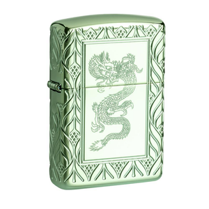 Zippo Armor 49054 Green Elegant Dragon Lighter