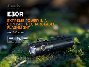 Fenix E30R Rechargeable Flashlight  (1600 Lumens) - Thomas Tools